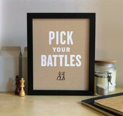Image of Pick Your Battles