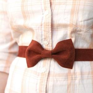 Image of Rust Bow Belt