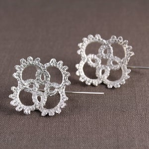 Image of edith doily earrings