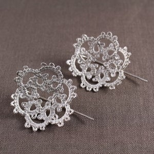 Image of dorothea doily earrings