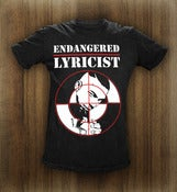Image of Endangered Lyricist T-Shirt (Men's)