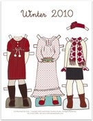 Image of Girl's Winter Line - Print It Yourself