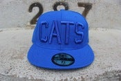 Image of ALL BLUE CATS HAT