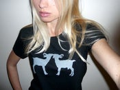 Image of Kissing Goats Tee