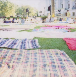 Image of Concert on the Square :: Polaroid Print