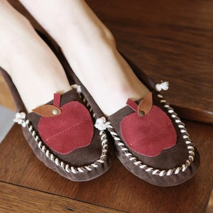 Image of Brown Apple Moccasin