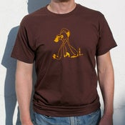 Image of Grumpy Chimp Mens T-Shirt