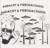 "Image of Audacity / Pterodacdudes - Split 7"" (Small Pool Records)"