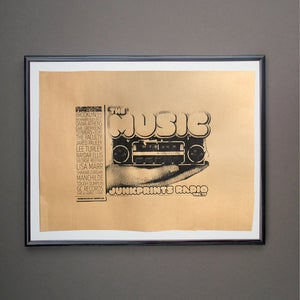 Image of THE MUSIC POSTER