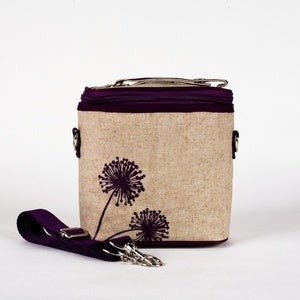 Image of So Young Mother Cooler Bag - Purple Dandelion