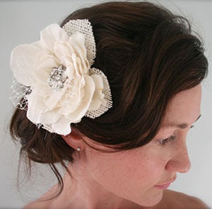 Image of Glady - Rustic Vintage Bridal Head Piece
