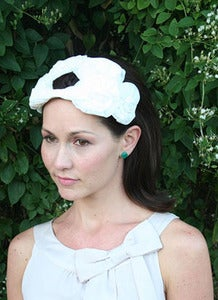 Image of Alexandra - Late 1950's Vintage Bridal Hat