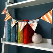 "Image of ""Happy Hounds"" Paper Pennant Garland"