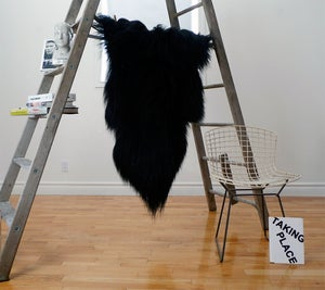 Image of Large Black Icelandic Sheepskin