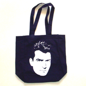 "Image of ""Charlie Sheen"" Tote Bag - Navy + FREE digital EP"
