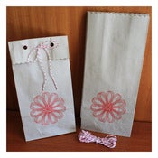 Image of HANDPRINTED KRAFT BAGS & TWINE by Katydid