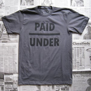 Image of Underpaid (asphalt)