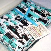 Image of Double Flannel Travel Wipes- Set of 6