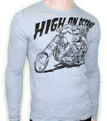 Image of Men's High on Octane Wolfie Long Sleeve Thermal