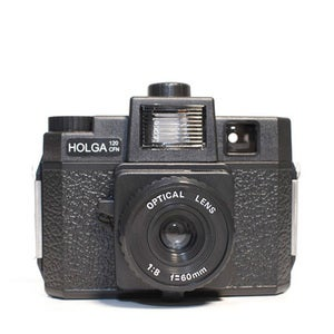 Image of Holga 120 CFN Camera (Black)