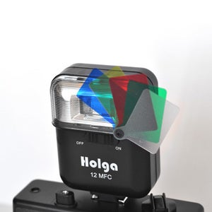 Image of Holga 12 MFC Colour Flash (Black)