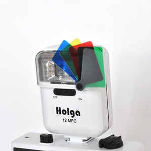Image of Holga 12 MFC Colour Flash (White)