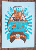 Image of 'All Hail Real Ale' Screen Print