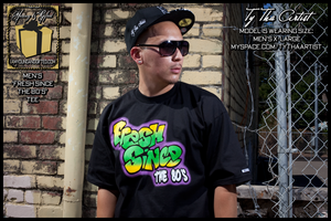 "Image of ""FRESH SINCE THE 80s"" Mens Tee (Black)"