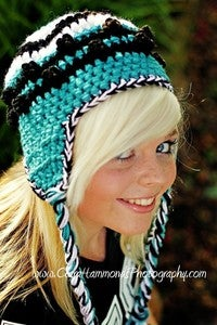 Image of Knotty Earflap Beanie