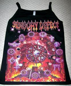 Image of SENSORY DEFECT (DELUSION) GIRLY TANK TOP