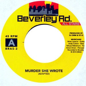"Image of Beverley Road Allstars - ""Murder She Wrote / Don Dada"" 7"""
