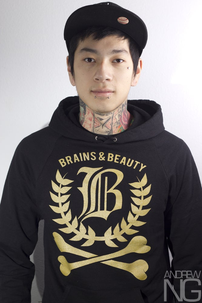 Brains & Beauty - Crossbones Hoodie