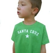 Image of santa cruz toddler tee-grass green