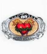 Image of True Love Heart Breaker Buckle