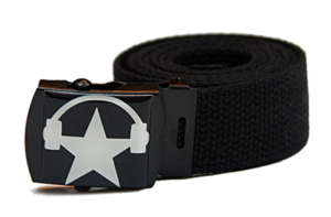 Image of CAVATA logo belt (BLACK)