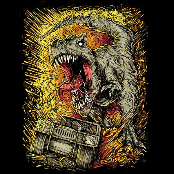 t rex shirt full New shirts coming soon!