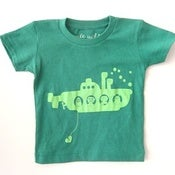 Image of robo submarine Infant t-shirt - grass