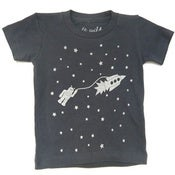 Image of astrobot infant t-shirt - thunder