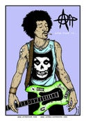 Image of Afro-Punk Limited Edition Poster by Jermaine Rogers - Jimi Hendrix