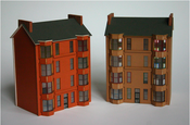 Image of Finch and Fouracre Scottish tenement model kit ** choice of colours **