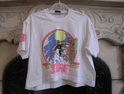 Image of Neon Surf Crop Tee