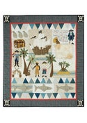 Image of Pirate Treasure quilt pattern