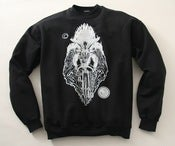 Image of Baphomet crewneck sweatshirt