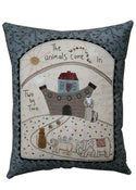 Image of Noah's Ark Pillow pattern