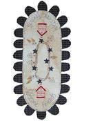 Image of Welcome Friends tablerunner pattern