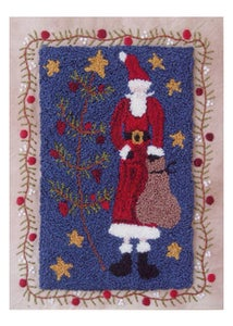 Image of I Love Santa punchneedle pattern
