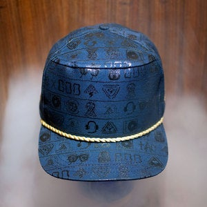 Image of The DIRTYGLYPHICS Snap Back - SOLD OUT