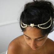 Image of ivy vine - bridal hair dress