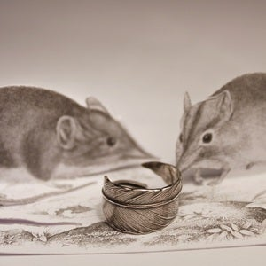 Image of Quill Ring in Silver 