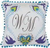 Image of Personalized Wedding Pillow